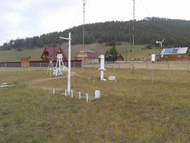Метеостанция в Узурах