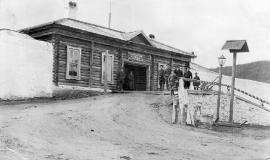 Въезд в Акатуйскую тюрьму