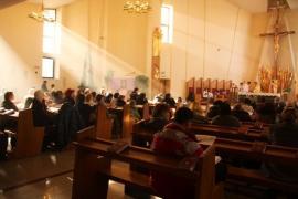 В Кафедральном соборе ежедневно проходят Святые Мессы