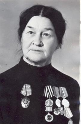 В.И. Высоцкая — хирург, доктор медицинских наук, профессор, кавалер ордена Трудового Красного Знамени