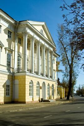 Здание научной библиотеки ИГУ