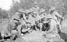 Американские экспедиционные силы в Сибири и на Дальнем Востоке (AEFS) имели максимальную численность в 1918 году