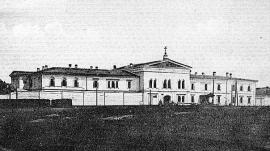 Здание иркутского тюремного замка. 1911