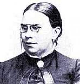 Аделаида Федоровна Ядринцева - жена писателя (1882 год)