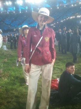 На открытии Олимпиады-2012