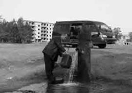 Единственное достояние вымирающего Лесогорска - источник, который лечит гастриты. Ради него сюда приезжают, но ради него никто не станет здесь жить.